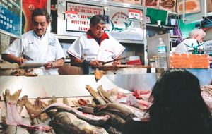 Mexico City Market