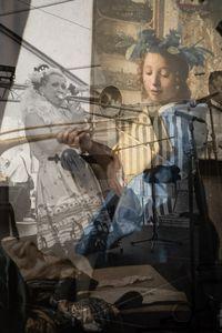 My stolen Vermeer V. Trombonist
