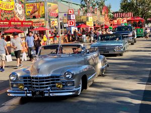 Classic Cars, Los Angeles County Fair Parade