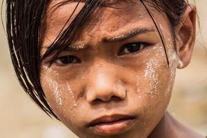 Myanmar sad girl