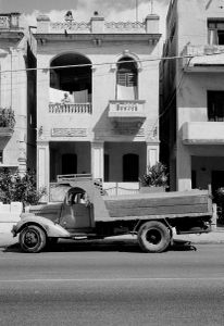 House with women ,Cuba,  Santiago de Cuba, Kuba,  January 1996