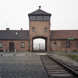 Main Gate, Auschwitz-Birkenau Memorial and Museum