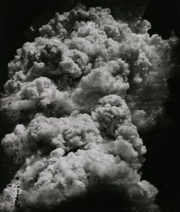The Mushroom Cloud – less than 20 minutes after the explosion, 1945.