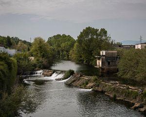 Sacco river, Ceccano.
