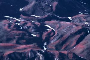 Alpine View - Melting Snow #34 (2020)