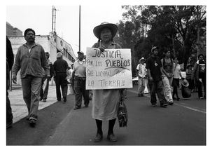 Manifestazione, Città del Messico