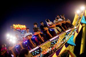 Amusement park in Pyongyang, June 19th, 2011.