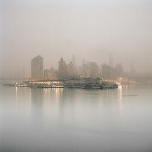 Downtown Chongqing at sunrise