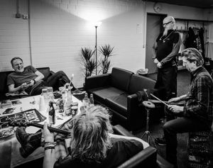 Fury in the Slaughterhouse Backstage - Fun time