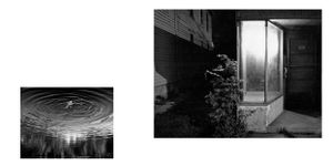 "from ""Into the Heart of Darkness and Light: A Dream Sequence"" (unpublished artist book, pages 02-03),"