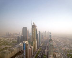 Skyline & Sheikh Zayed Road, Dubai