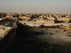 Smara, Saharawi Refugee Camp. Hamada Desert (Sahara), Algeria.