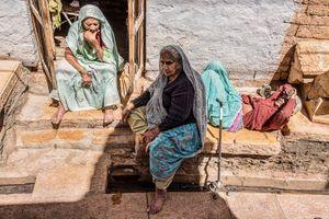 OldWoman@Jaisalmer