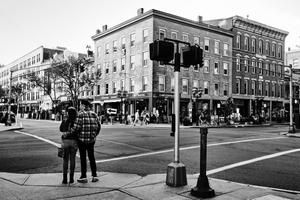 Couple At a Crosswalk