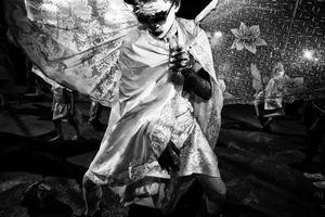 White Devil Dancing, Paramin, Trinidad, 2016