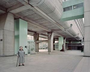 Josette, 90, Vision 80, Esplanade de La Défense, 2013