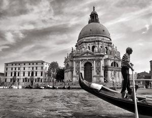 Venice gondolero