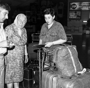 russian immigrants upon arrival