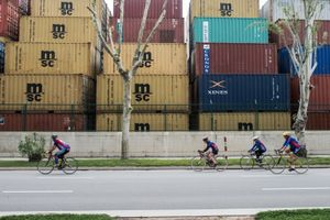 Bikes and Containers