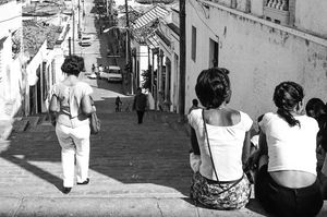 Escalinata de Padre Pico, 2004