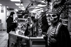 The Personification of Death in a Convenience Store