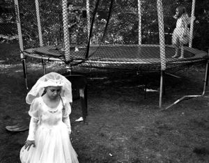 Bride on the Trampoline, Brookline 2004