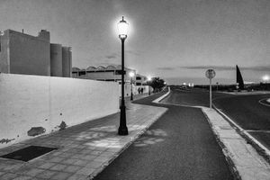Nightime in Corralejo