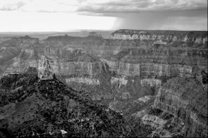 Grand Canyon, as Seen From North Rim