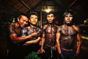 The Uitoto Men