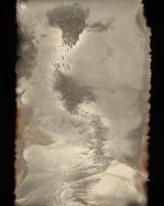 Untitled Work of Fire 18-07-13 2013. 19.5 x 15.5 Unique gunpowder generated gelatin silver print.