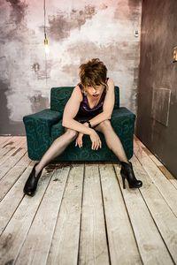 Annette NJ  Feeling very Patti Smith