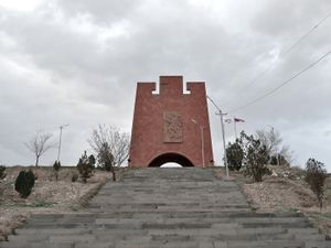 The Musaler memorial located near Yerevan is dedicated to the armed resistance against the Ottoman army of the villagers of Musa Dagh (Musaler in Armenian), a mountain located in Southern Turkey, during the summer of 2015.