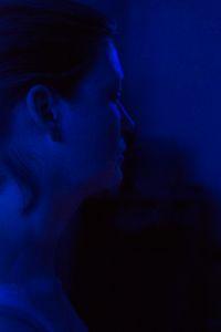 Portrait of a Blue Self