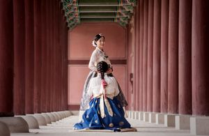 At Gyeongbokgung Palace