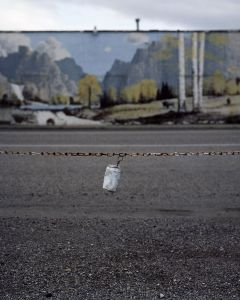 Tin Can on Yellowstone Avenue, Highway 91 Idaho © Alexis Pike