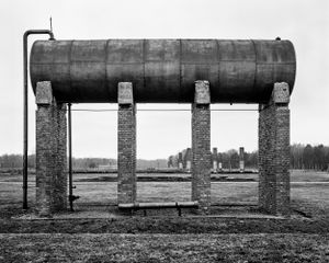Water tank for the camp kitchen - KL Auschwitz II - Birkenau