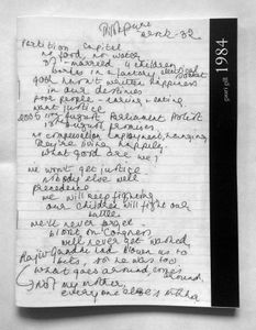1984 Notebooks