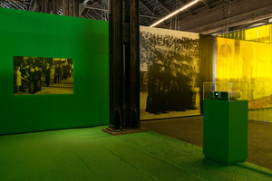 'Visual Regime' installation. Arles 2015.