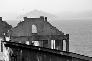 Alcatraz, Ruins and Bay