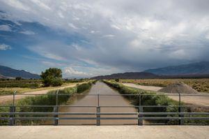 Los Angeles Aqueduct Canal, Owens Valley, CA