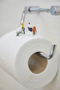 Hoarding toiletpaper