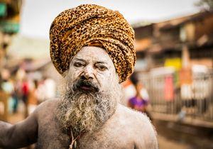 Aghoris Sadhu, Kumbh Mela, India,  2015.