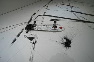 "Skateboarding calligraphy ""FREEHAND""by Takahiro Morita _6"