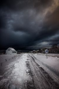 The stormy street
