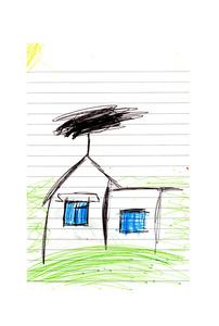 Sabina, House Drawing