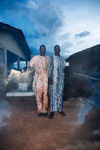 Kehinde Adebayo and Taiwo Ayodele