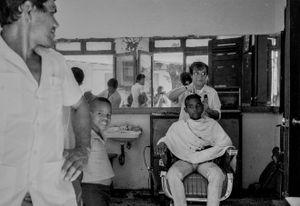 Hairdresser, Cuba,  Sant iago de Cuba, Kuba, January 1996