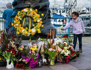 Memorial for the F/V Destination lost at sea with all crew members.