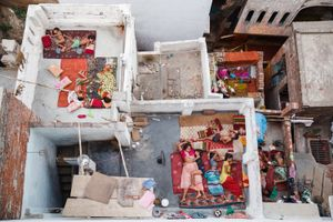 Rooftop Dreams Varanasi India
