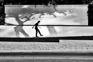 White Wall, Austin, Texas, 2004
